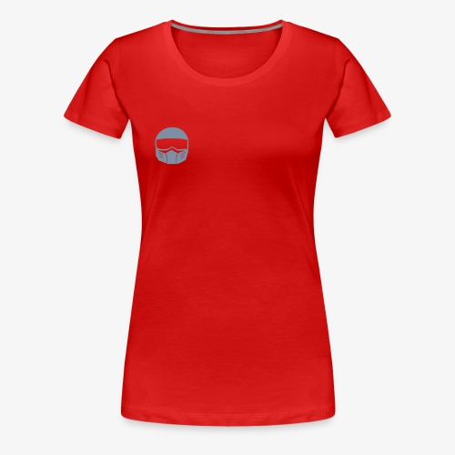 Fighter Helm - Frauen Premium T-Shirt