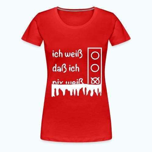 NIX - Frauen Premium T-Shirt
