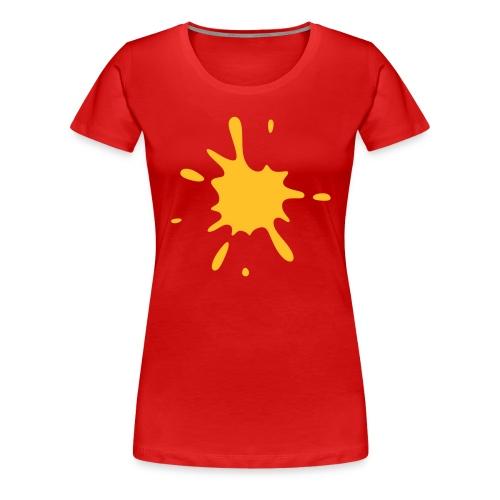 Red Splatter - Women's Premium T-Shirt