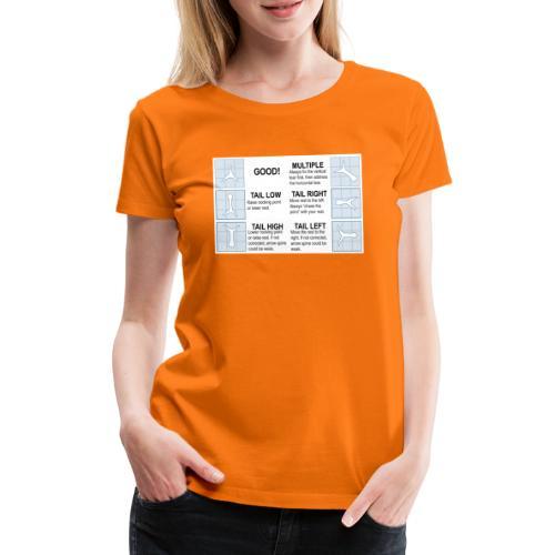 Papertune - Premium-T-shirt dam