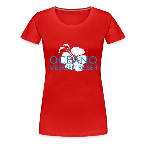 oceano meerzeit - Frauen Premium T-Shirt