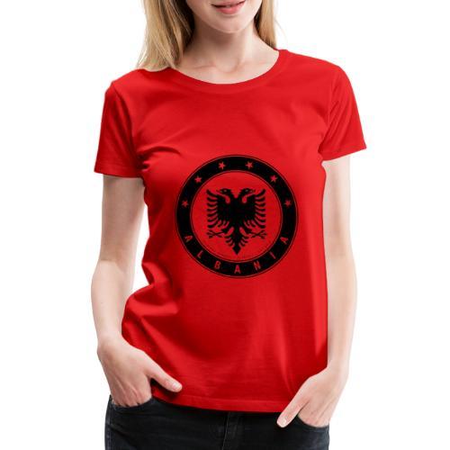 Patrioti Albania Black - Frauen Premium T-Shirt