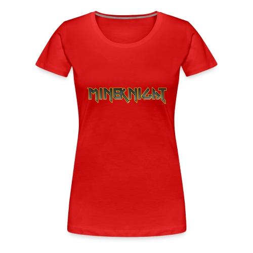 MineKnight T-shirt - Premium-T-shirt dam