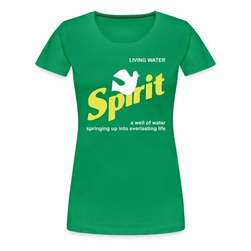 Living Water (JESUS-shirts) - Frauen Premium T-Shirt