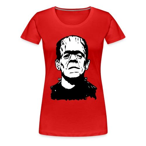 Boris Karloff (two colours) - Frauen Premium T-Shirt