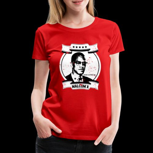 Malcom X Classic - Frauen Premium T-Shirt