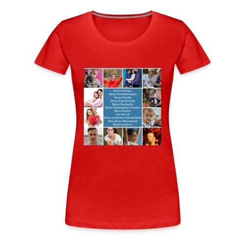 Motiv 4 Design vor Kauf siehe unten - Frauen Premium T-Shirt