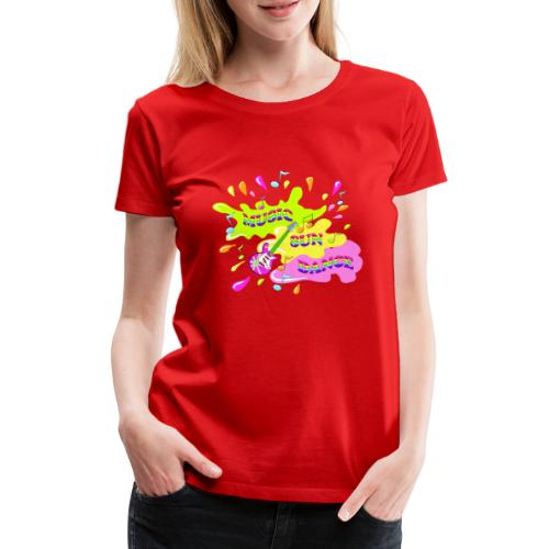 MUSIC RAINBOW colorcontest - T-shirt Premium Femme