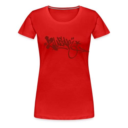 Logo Masters Red Red - Dame premium T-shirt