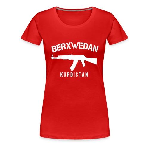 Berxwedan Kurdistan - Frauen Premium T-Shirt
