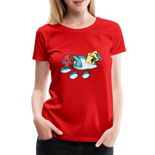 Sirène féline coquine - T-shirt Premium Femme