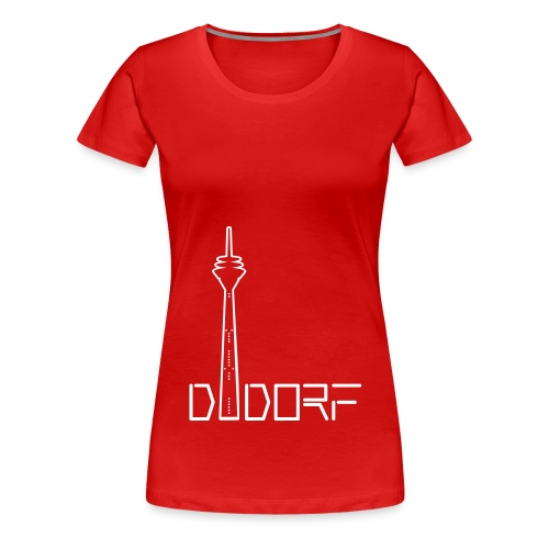 ddorf - Frauen Premium T-Shirt