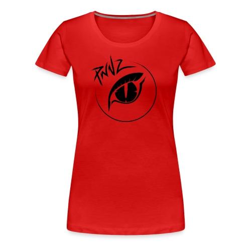 PwnZ Noir - T-shirt Premium Femme