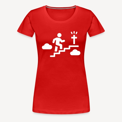 STAIRWAY TO..... - Women's Premium T-Shirt