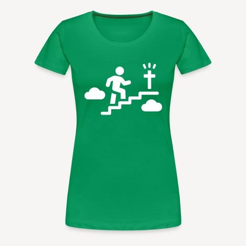 STAIRWAY TO..... - Women's Premium T-Shirt