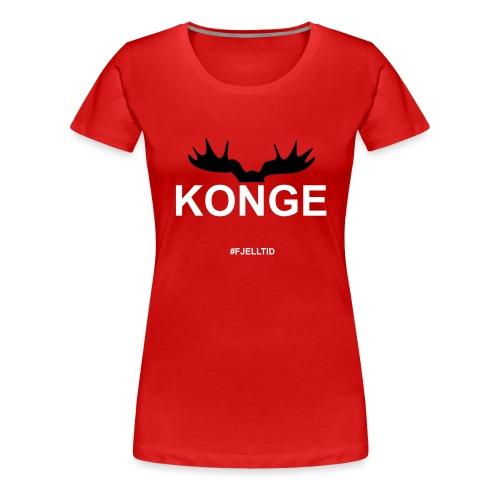 Konge - Premium T-skjorte for kvinner