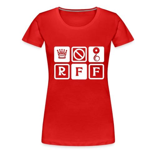 logo rff new - T-shirt Premium Femme