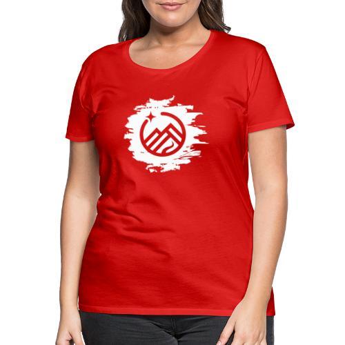 LogoPainted - Frauen Premium T-Shirt