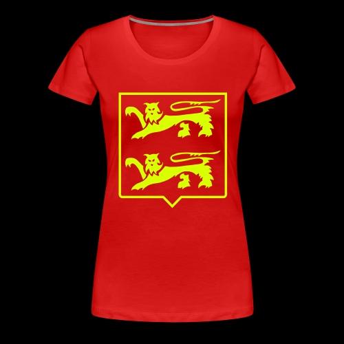 LIONS DE NORMANDIE - T-shirt Premium Femme