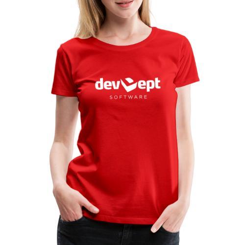 devDept Software (white) - Women's Premium T-Shirt