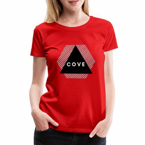 Logo Cove | Grande Version - T-shirt Premium Femme