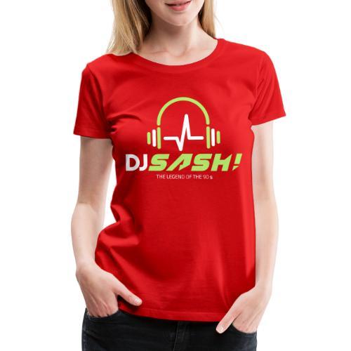 DJ SASH! - Headfone Beep - Women's Premium T-Shirt