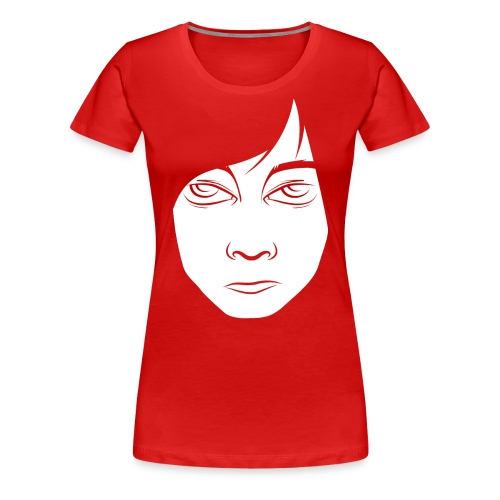 red - Dame premium T-shirt