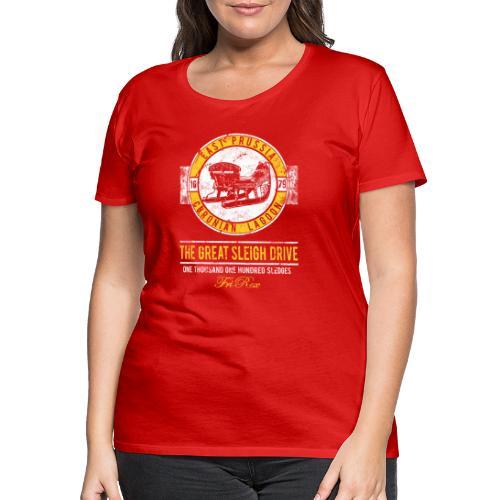 FriRex Schlittenfahrt - Frauen Premium T-Shirt