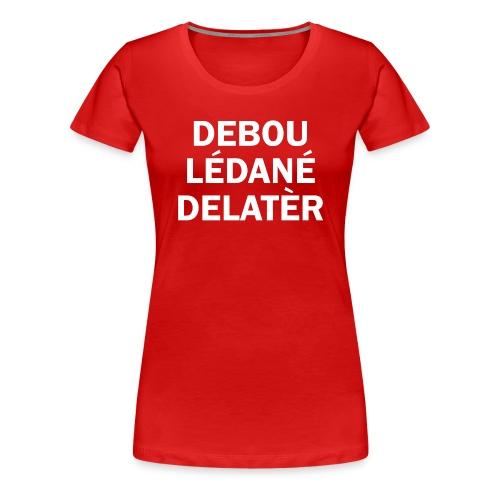 debou lédané gif - T-shirt Premium Femme