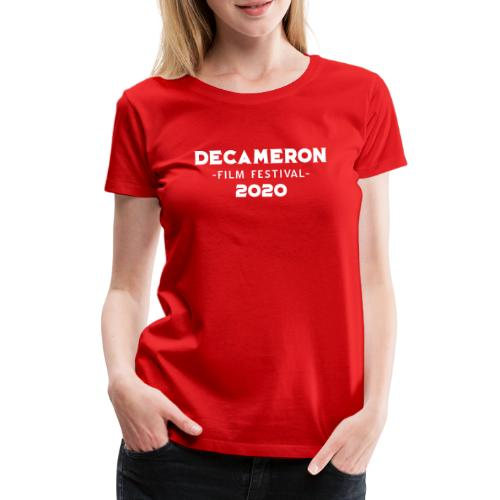 DECAMERON Film Festival 2020 - Women's Premium T-Shirt