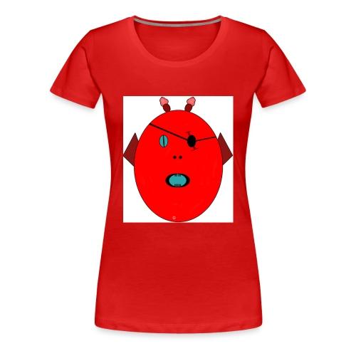 The red monster - Premium-T-shirt dam