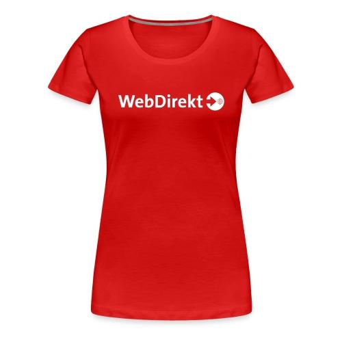 webdirekt logo vector - Frauen Premium T-Shirt