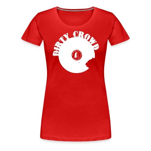 DC LOGO VIT - Premium-T-shirt dam