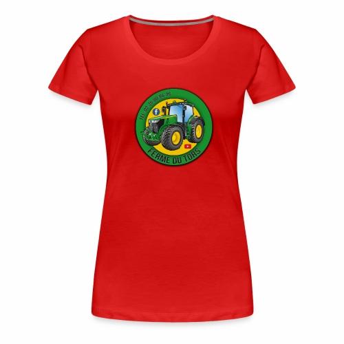 Logo de la Ferme - T-shirt Premium Femme