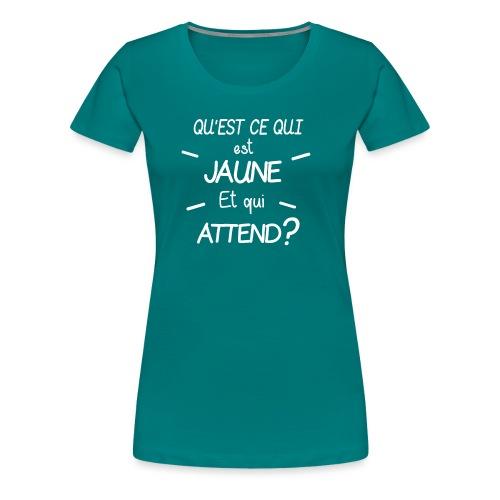 Edition Limitee Jonathan Black - T-shirt Premium Femme