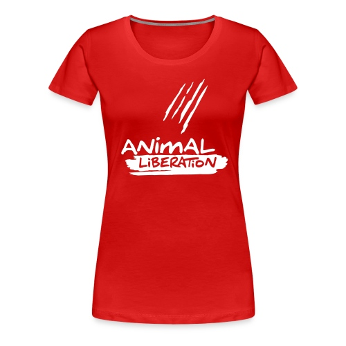 animalliberation01o_225x225 - Frauen Premium T-Shirt