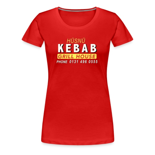 Husnu Kebab Shop - Women's Premium T-Shirt