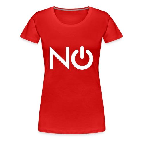 NerdOff™ Blanco - Camiseta premium mujer