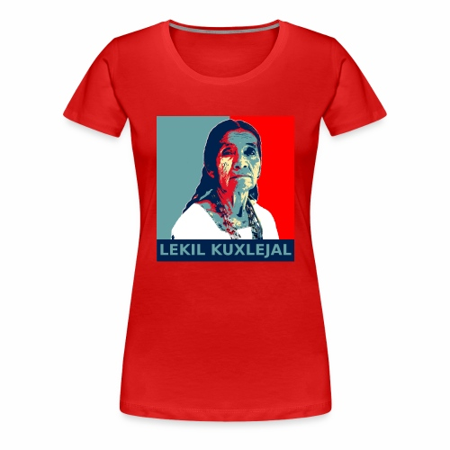 Lekil Kuxlejal - Camiseta premium mujer