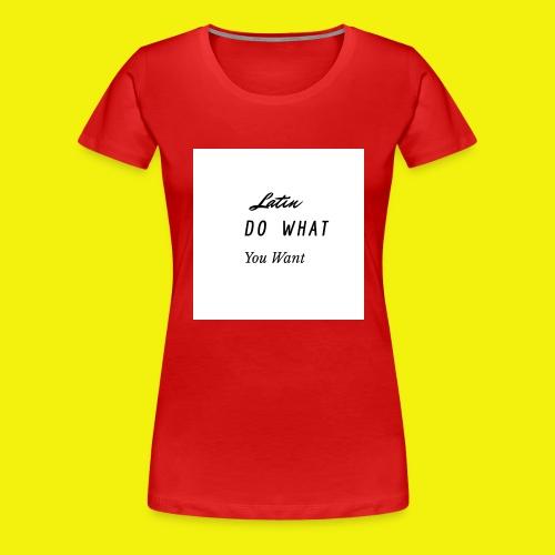 newproject 1 original - Camiseta premium mujer