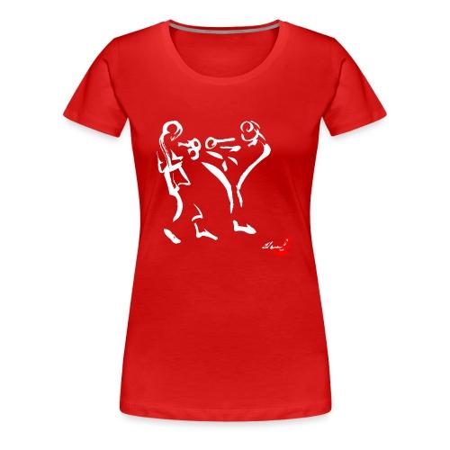MUAY THAI - Maglietta Premium da donna