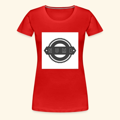 NumbClothingCo logo tee - Women's Premium T-Shirt