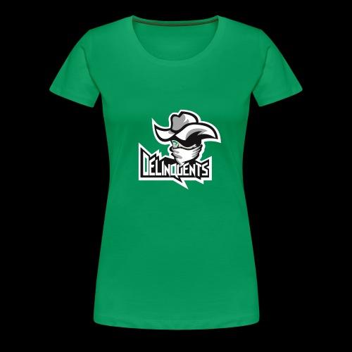 Delinquents TriColor - Dame premium T-shirt
