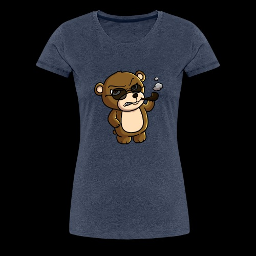 AngryTeddy - Women's Premium T-Shirt