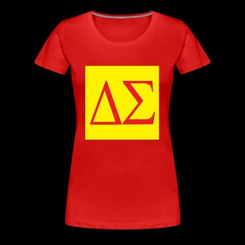 Logo Orange - T-shirt Premium Femme