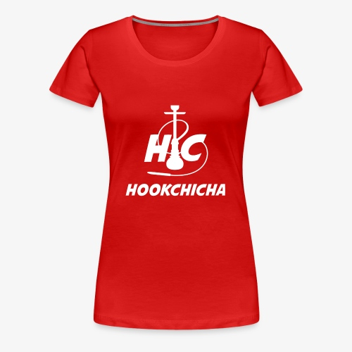 Design Officiel de la team HookChicha - T-shirt Premium Femme