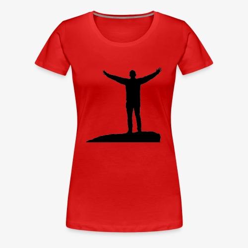CONQUER - Dame premium T-shirt