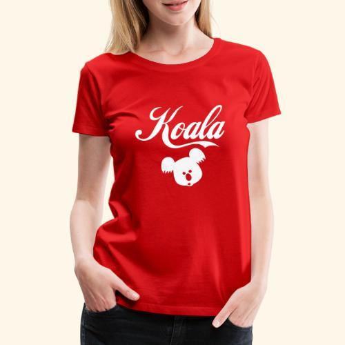 Koala Kawaii Comic Design für Australien Fans - Frauen Premium T-Shirt