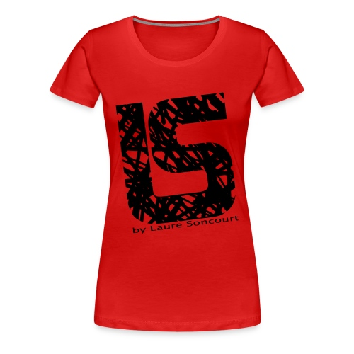 logo_tshirt_noir__texte - T-shirt Premium Femme