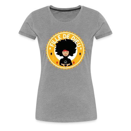 fillededieujaune - T-shirt Premium Femme
